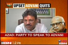 BJP will ask Advani what led to his resignation: Kirti Azad
