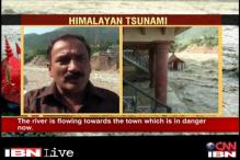 Bhagirathi rising, people asked to vacate houses: Uttarkashi local