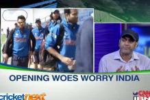 Favourites India face 'opening' blues
