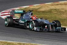 Mercedes banned from young driver test in Barcelona