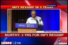 Rebuilding a desirable Infosys will take 3 years: Murthy
