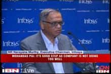 NR Narayana Murthy starts his second innings at Infosys