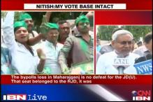 Bihar by-poll: Lalu Prasad celebrating too early, says Nitish Kumar