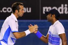 Paes-Stepanek advance, Bhupathi-Hantuchova crash out  at Wimbledon