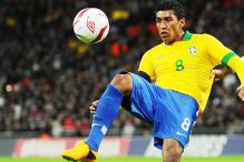 Brazil's Paulinho out of Italy showdown due to injury