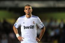 Manchester City and Real Madrid in showdown over Pepe