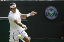 Del Potro advances to 2nd round at Wimbledon