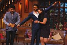 Ranveer, Sonakshi promote 'Lootera' on the sets of 'Comedy Nights with Kapil'