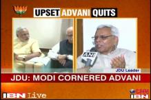 Modi has cornered Advani and crowned himself, says JDU leader