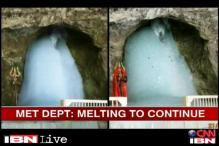 Amarnath Shiv lingam's size shrinks to half of what it was 5 weeks ago