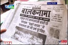 Balaknama: a newspaper through which street kids tell their stories