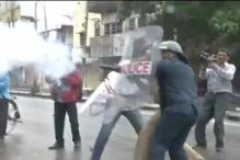 Telangana protests flare up, police fire teargas shells at protesters