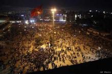 Turkey seeks negotiated end to anti-government protests