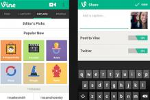 Twitter updates Vine for Android app, adds Facebook sharing, hashtags