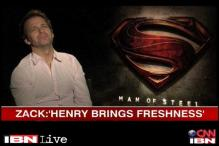 Director Zack Snyder gets candid about his film 'Man of Steel'