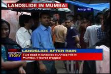 Mumbai: 2 dead, 4 still trapped in a landslide at Antop Hill