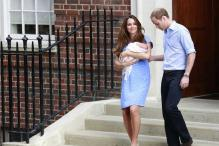 In pics: Kate and William show the royal baby boy