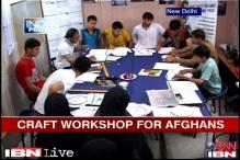Delhi helps Afghan teenagers acquire handicraft skills