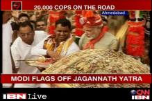 Narendra Modi flags off Rath Yatra as UAVs keep vigil from top