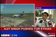 Video: Aviation Minister Ajit Singh defends Jet-Etihad deal