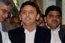 Uttar Pradesh CM Akhilesh Yadav's convoy attacked in Hyderabad