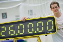 British youngster bats for 26 hours in world record attempt