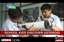 Class 7 students discover asteroid, get international recognition