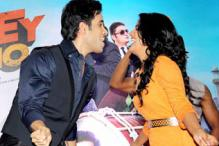 Tusshar, Vishakha Singh match steps at the music launch of 'Bajatey Raho'