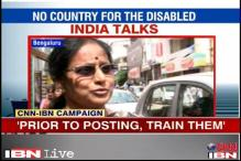 Amputee alleges harassment: Citizens say India not disabled friendly