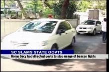 SC pulls up state governments for not doing away with beacon lights