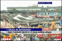 Thane: Garment factory building collapses; 1 dead, 24 injured