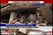 Thane garment factory building collapse: 2 dead, 26 injured