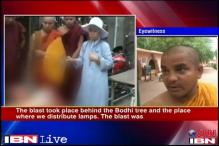 Mahabodhi temple: Blast was very loud, says eyewitness