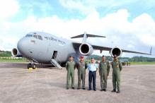 IAF's C-17 Globemaster-III makes its maiden flight to Andaman & Nicobar