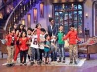 Shah Rukh, Deepika Padukone promote 'Chennai Express' on the sets of 'Comedy Nights with Kapil'