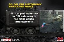 SC seeks CBI's view on granting greater autonomy to it