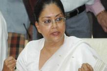 Congress govt misleading people: Vasundhara Raje
