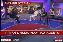 Irrfan, Huma and Shruti talk about 'D-Day'