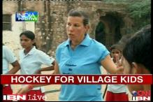 German hockey player sets up base in Rajasthan to coach children