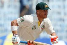 Heated sledging sparks more trouble for David Warner