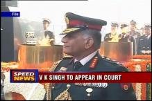 Defamation case: Army ex-chief VK Singh to appear in court today