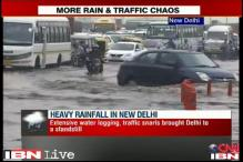 Rains lash Delhi, NCR again; waterlogging, traffic jams in many areas