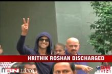 Hritik Roshan returns home after brain surgery