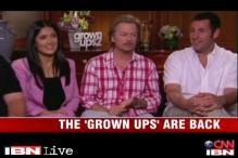 Adam Sandler, Salma Hayek and the gang return in 'Grown Ups 2'