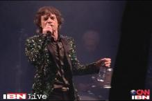 The Rolling Stones's debut act at Glastonbury music festival
