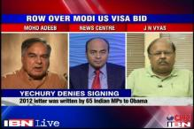 Modi visa row: Were the signatures forged?