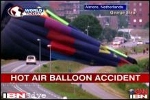 Netherlands: Hot air balloon crashes into a lake