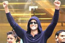 Hrithik Roshan shows victory signs after being discharged from the hospital