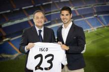 Real Madrid unveil new midfielder Isco