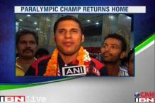 Paralympian Jhajharia glad to have done the country proud